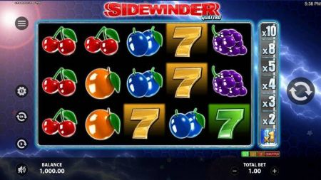 Play Sidewinder Quattro - Free Slot Game
