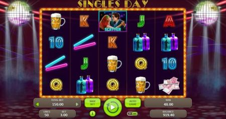 Play Singles Day - Free Slot Game