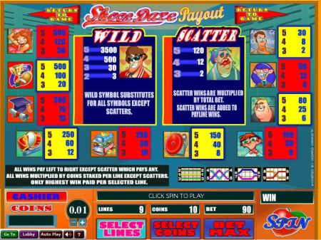 Play Skool Daze - Free Slot Game