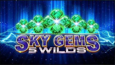 Play Sky Gems 5 Wilds - Free Slot Game