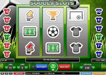 Play Soccer Slots - Free Slot Game
