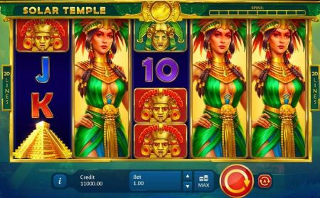 Play Solar Temple - Free Slot Game