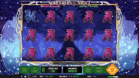 Play Sorcerers of the Night - Free Slot Game