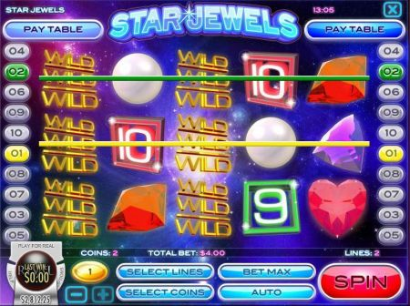 Play Star Jewels - Free Slot Game