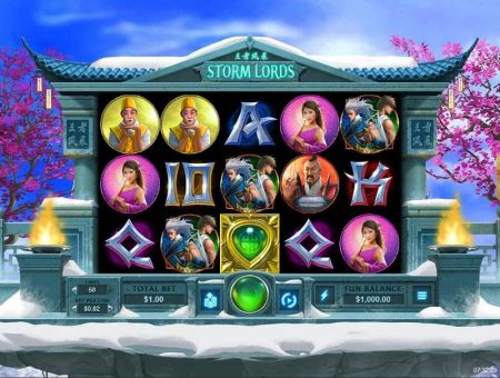 Play Storm Lords - Free Slot Game