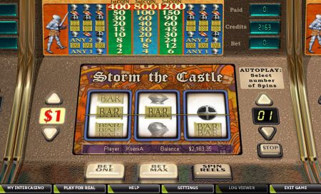 Play Storm the Castle - Free Slot Game