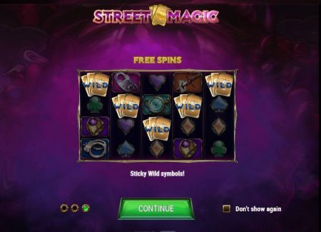 Play Street Magic - Free Slot Game