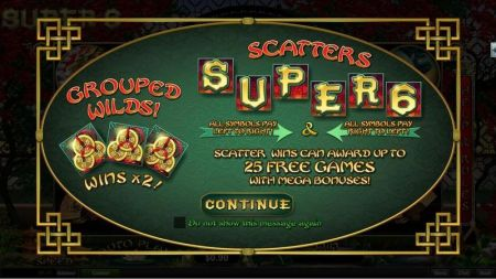 Play Super 6 - Free Slot Game