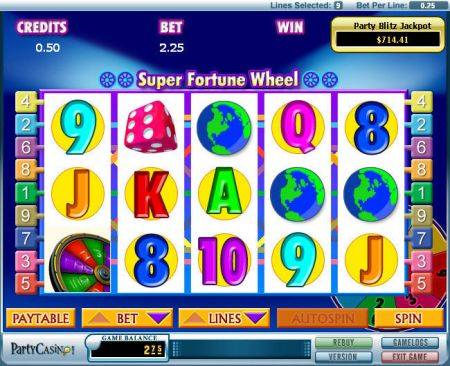 Play Super Fortune Wheel - Free Slot Game