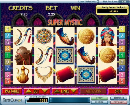 Play Super Mystic - Free Slot Game