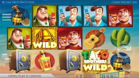Play Taco Brothers - Free Slot Game