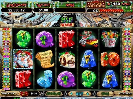 Play The Elf Wars - Free Slot Game