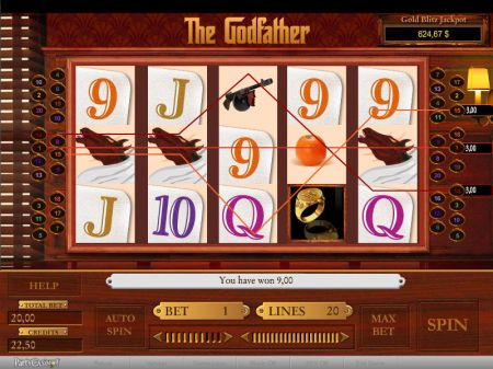 Play The Godfather - Free Slot Game
