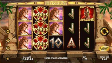 Play The Legend of Hercules - Free Slot Game