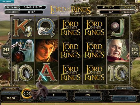 Play The Lord of the Rings - Free Slot Game