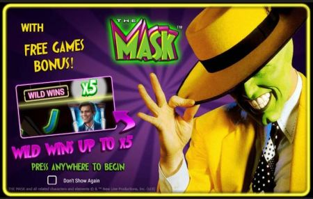 Play The Mask - Free Slot Game