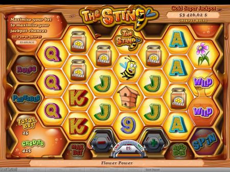 Play The Sting - Free Slot Game
