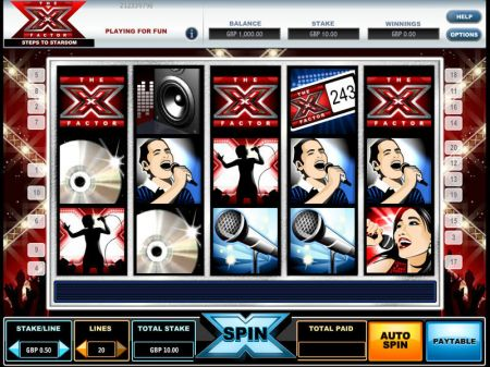Play The X Factor - Free Slot Game