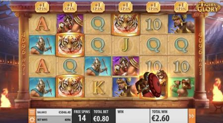 Play Tiger's Glory - Free Slot Game