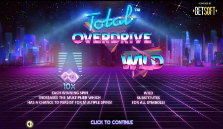 Play Total Overdrive - Free Slot Game