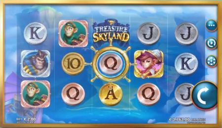Play Treasure Skyland - Free Slot Game