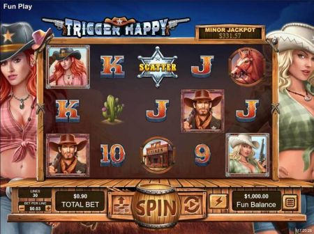 Play Trigger Happy - Free Slot Game
