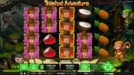 Play Tropical Adventure - Free Slot Game
