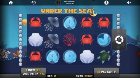 Play Under the Sea - Free Slot Game