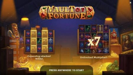 Play Vault of Fortune - Free Slot Game