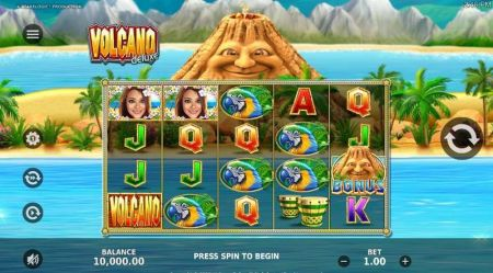 Play Volcano Deluxe - Free Slot Game