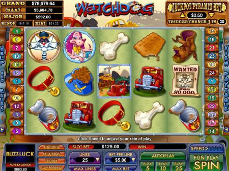Play Watchdog - Free Slot Game
