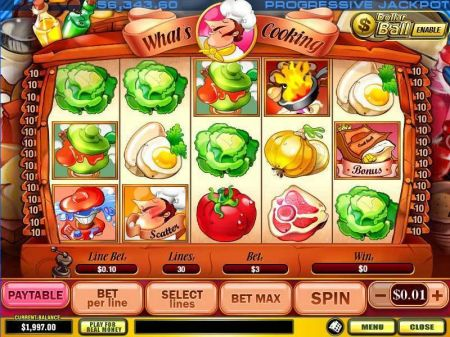 Play What's Cooking - Free Slot Game