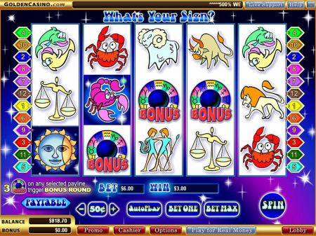 Play What's Your Sign - Free Slot Game