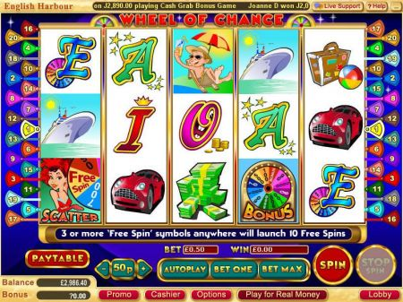 Play Wheel of Chance 5-Reels - Free Slot Game