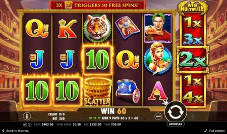 Play Wild Gladiators - Free Slot Game
