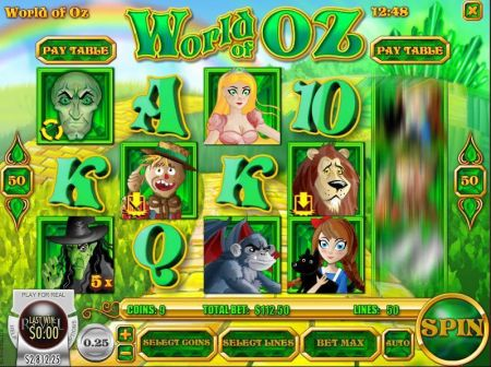 Play World of Oz - Free Slot Game